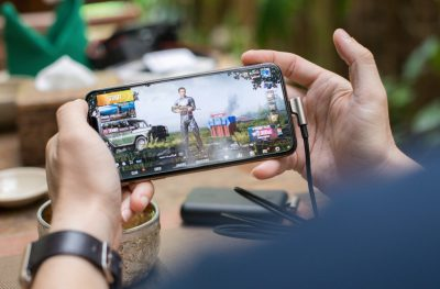 Gaming on a mobile phone