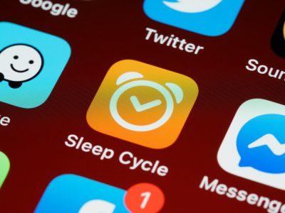 Sleep app on phone